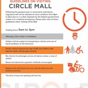 GUIDELINES ON VISITING CIRCLE MALL