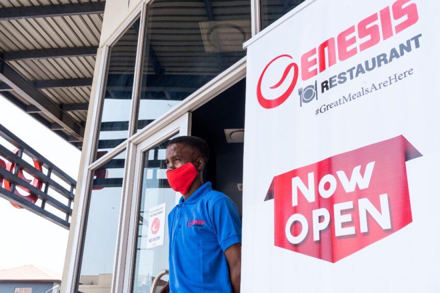 Genesis Restaurant now open